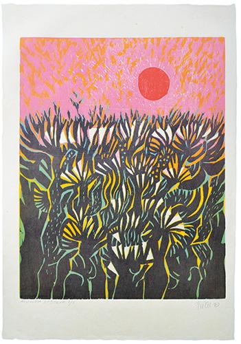 Alfred Pohl - Nostalgia II / Selva, 64 x 46 cm, 2010
